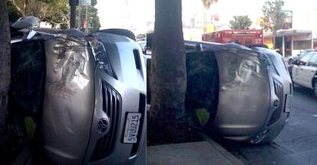 Эрик Стромер из Top Gear America попал в аварию