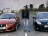 Джереми Кларксон и машины-звезды фильма The Sweeney — Jaguar XFR и Ford Focus ST