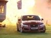 Джереми Кларксон в Jaguar XFR в момент взрыва