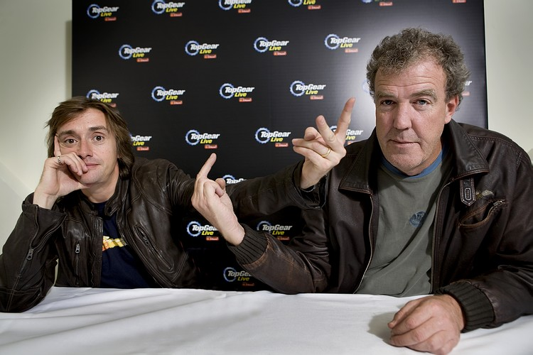 Джереми Кларксон и Ричард Хаммонд, просто забавная фотография в духе Top Gear