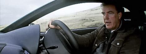 Джереми Кларксон за рулем Mercedes CLK 63 AMG Black