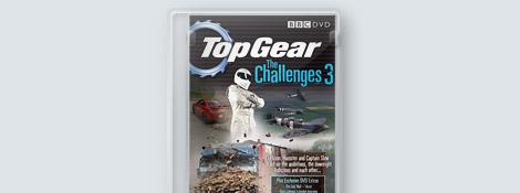 Дополнительные материалы с DVD «Top Gear The Challenges 3»