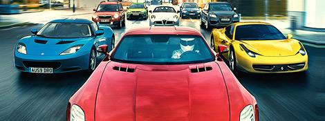 Автомобили Года 2009 по версии журнала Top Geart