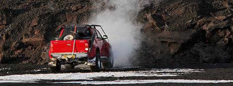 Top Gear на извергающемся вулкане