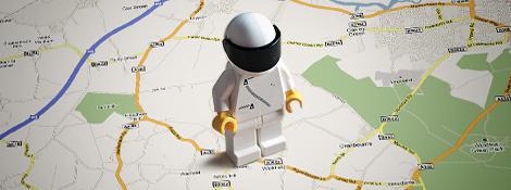 Стиг в Google Maps