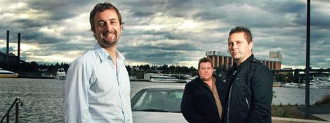 Top Gear Австралия - 03x00. Встреча с английской троицей