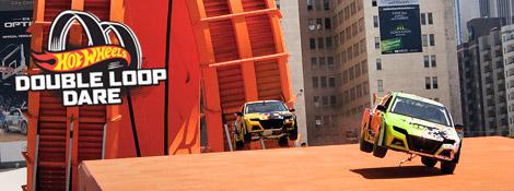 Таннер Фауст выполнил «мертвую петлю» на автомобиле