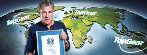 Top Gear попал в «Книгу рекордов Гиннесса»