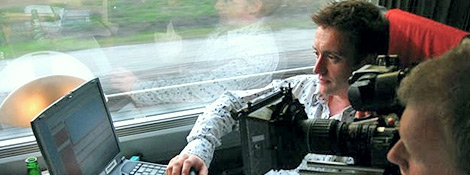 Фото со съемок Top Gear в 2004 году