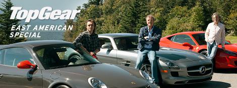 Top Gear - Путешествие на восток США