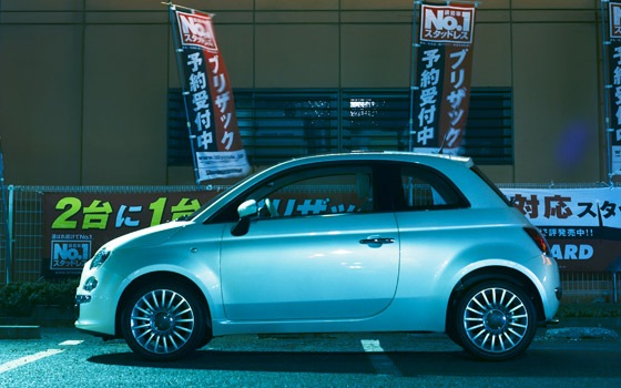 Fiat 500 - Top Gear Cars of the year 2007