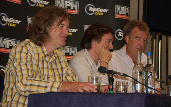Top Gear Live 2008: Кларксон, Хаммонд и Мэй на танке