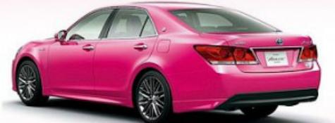 """Розовая Тойота - это """"Toyota Crown"""""""