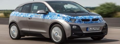 В Германии стал на конвейер электрический BMW i3