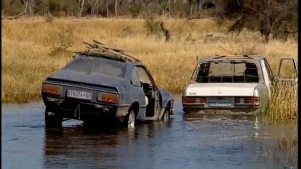 Top Gear переправа через реку
