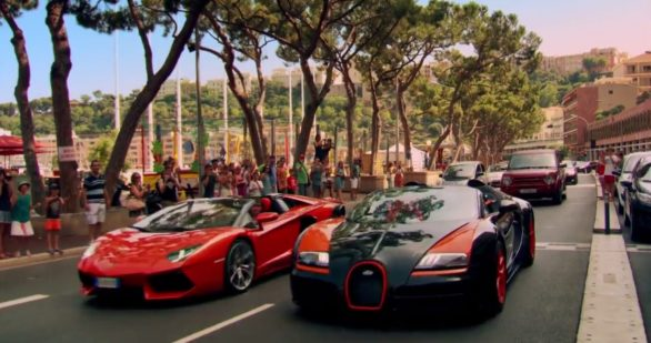 Спорткары на дорогах Италии в программе Топ Гир