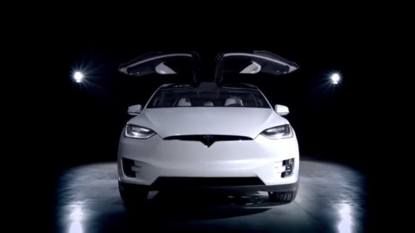 электромобиль Тесла Модел Х