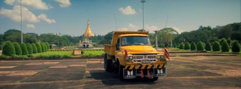 Топ Гир 6 серия 21 сезон спецвыпуск на грузовиках в Бирме