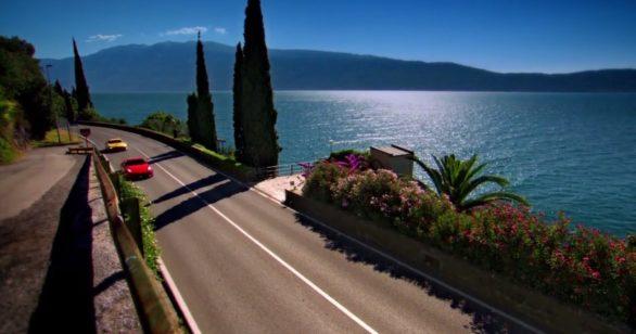 Поездка к озерам Италии в Идеальном путешествии Топ Гир
