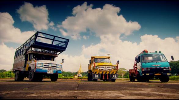 Три грузовика для путешествия по Бирме Топ Гир