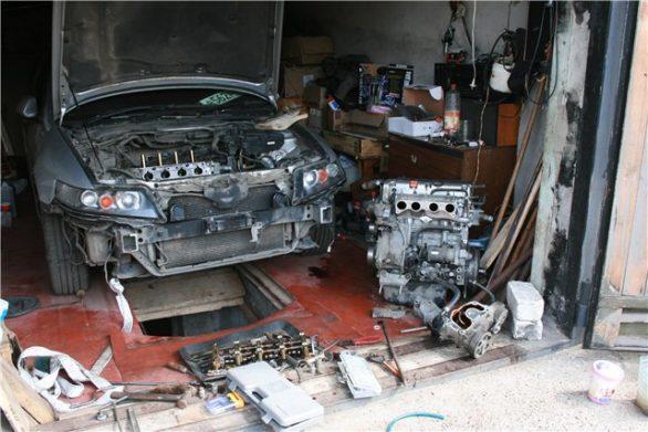устранение последствий гидроудара двигателя