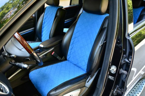 накидки на сиденья автомобиля из алькантары
