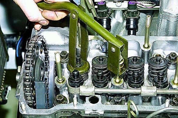 инструмент для замены маслосъемных колпачков