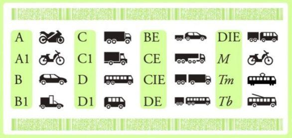 водительские права категории в1 что это
