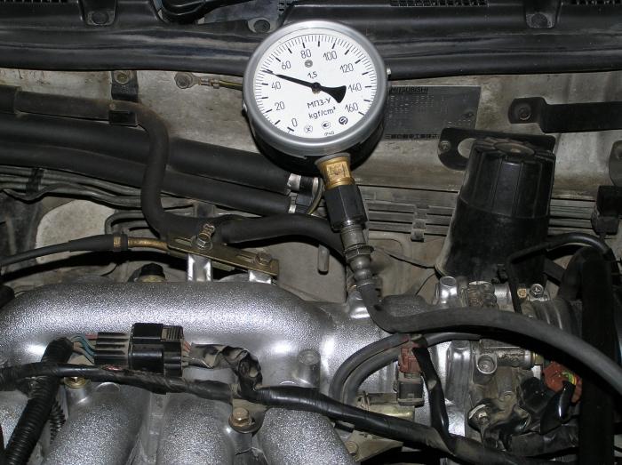 проверка давления в топливной рампе своими руками