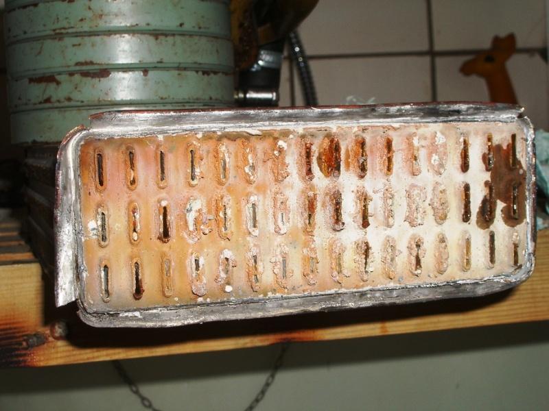 грязь в радиаторе отопителя