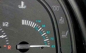 Двигатель не прогревется до рабочей температуры