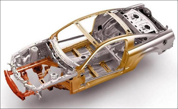 Металлический кузов авомобиля