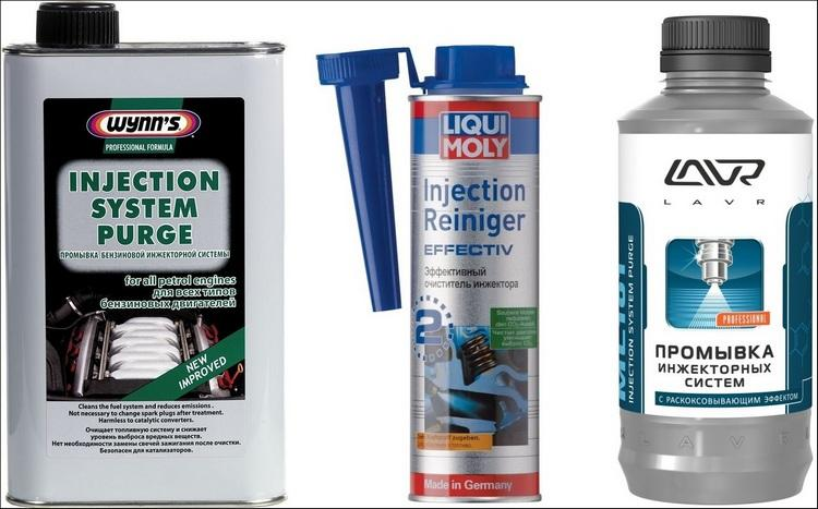 Жидкости для промывки инжектора
