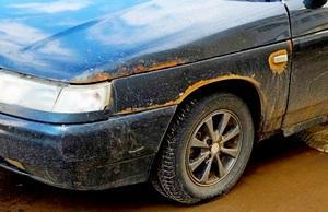 Как убрать ржавчину с кузова автомобиля своими руками ваз фото 572