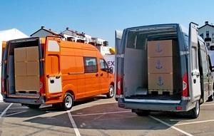 Цельнометаллические фургоны