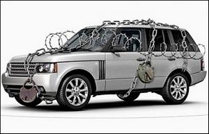 Механические противоугонные устройства автомобиля