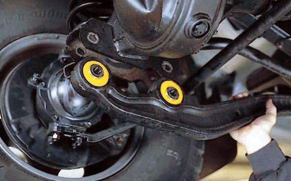 Плюсы и минусы полиуретановых сайлентблоков в подвеске автомобиля