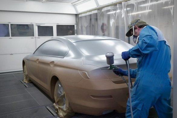 покраска жидкой резиной автомобиля