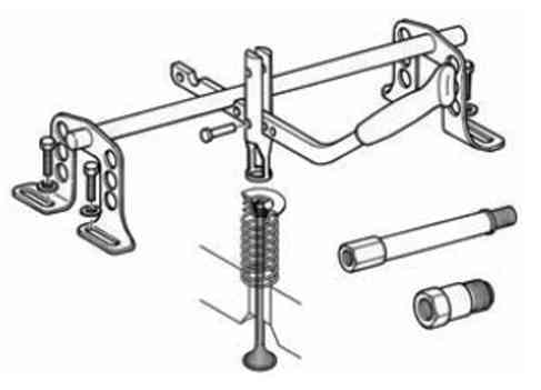 vintovoy rassuharivatel klapanov - Устройство для рассухаривания клапанов