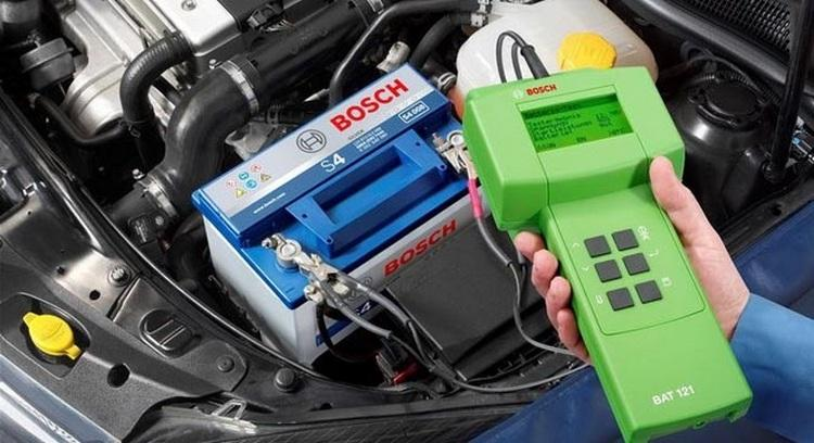 Измерение тока гелевого аккумулятора