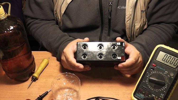 Восстановление GEL-аккумулятора
