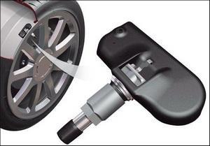 Как работает датчик давления в шинах