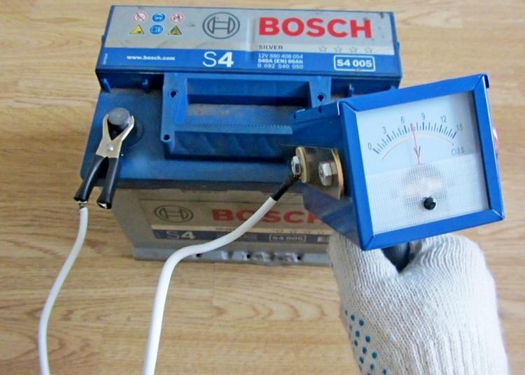 Измерения нагрузочной вилкой