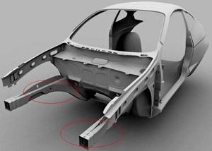 Передние и задние лонжероны автомобиля — что это такое