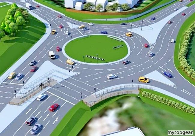 Дорожный знак 4.3 «Круговое движение» — назначение и новые правила проезда