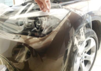 Оклейка авто бронепленкой